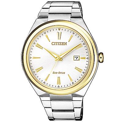 CITIZEN 星辰/簡約風格光動能時尚腕錶/AW1374-51B
