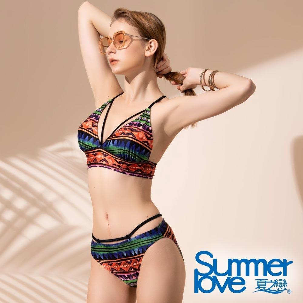 夏之戀SUMMER LOVE 大女比基尼二件式泳裝