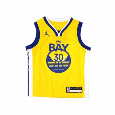 NIKE NBA Statement Edition 兒童球衣 勇士隊 Stephen Curry