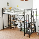 完美主義 無印工業風雙層單人床架/鐵床/3.2尺(2色)