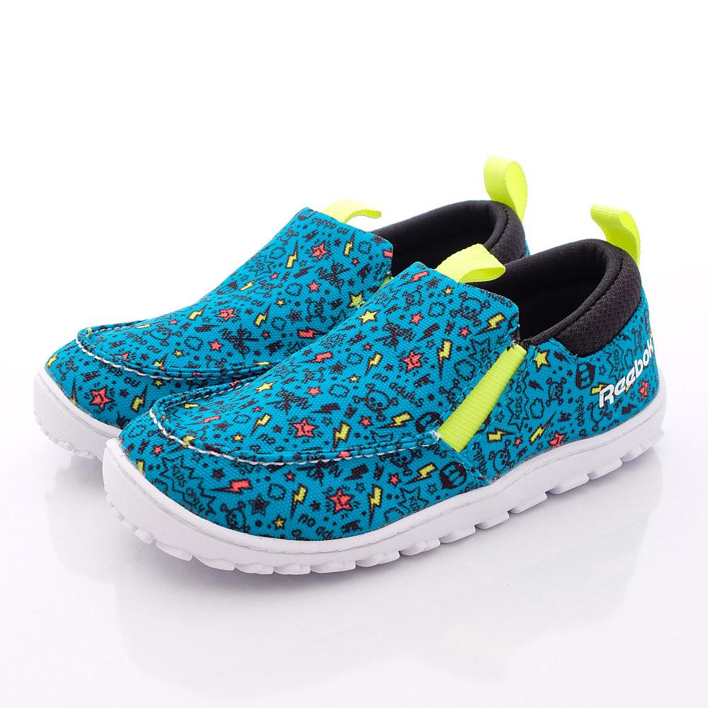 零碼-14cm Reebok頂級童鞋 休閒鞋款 ON233藍