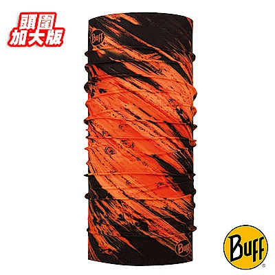 《BUFF》Plus加大版經典頭巾-火焰風暴 BF117981-203