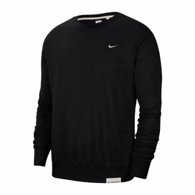 Nike 大學T Standard Issue Crew 男款 基本 圓領 DRI-FIT 吸濕排汗 快乾 黑米 CK6359010