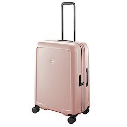 VICTORINOX 瑞士維氏CONNEX 可擴充26吋硬殼行李箱-粉色