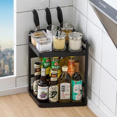 【HappyLife】廚房置物架27長2層配刀架 27×18.5×40CM