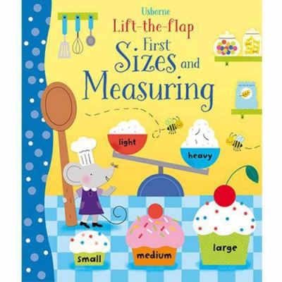 Lift-The-Flap Sizes And Measuring 大小測量翻翻學習書