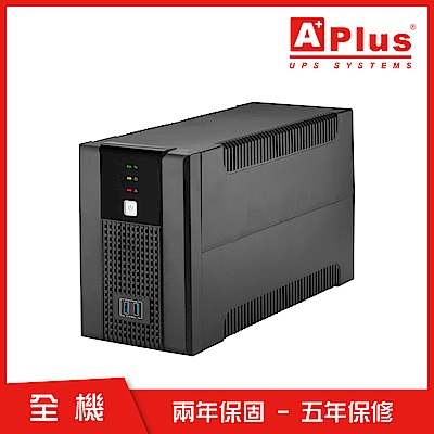 特優Aplus 在線互動式UPS Plus5E-US1000N(1000VA/600W)