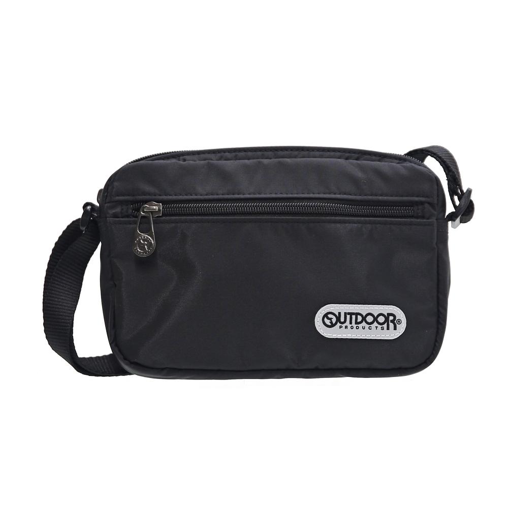 【OUTDOOR】旅行配件-側背包-黑 ODS16B01BK