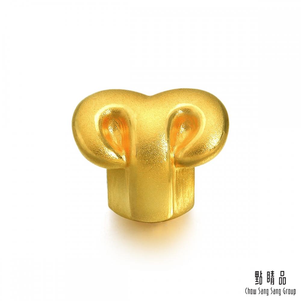 點睛品 Charme 十二星座-牡羊座 黃金串珠
