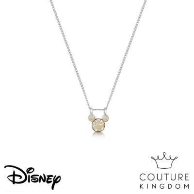 Disney Jewellery by Couture Kingdom 經典米奇橄欖綠水晶項鍊