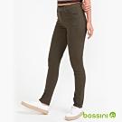 bossini女裝-彈性長褲06軍綠色