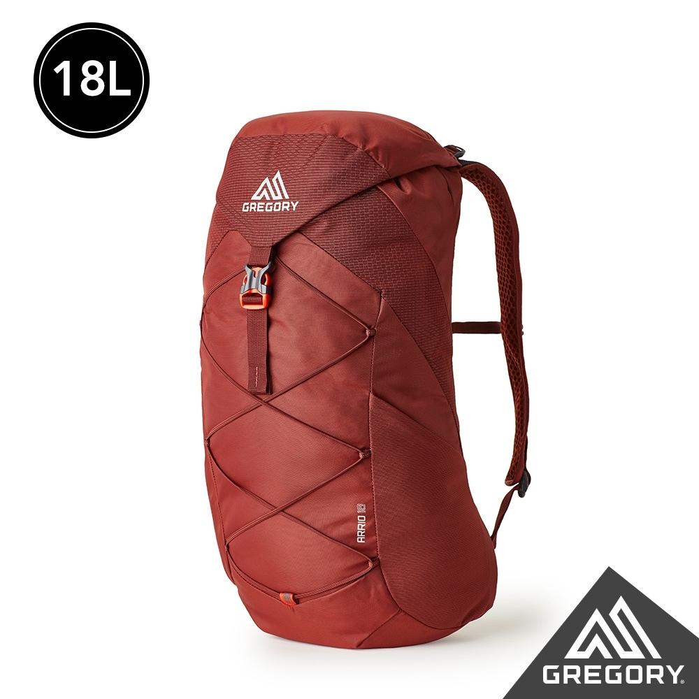 Gregory 18L ARRIO 多功能登山背包 磚石紅