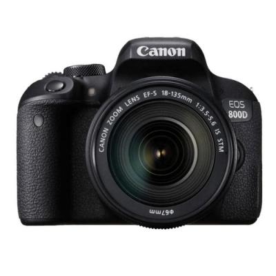 Canon EOS 800D 18-135 STM 標準變焦鏡組(公司貨)