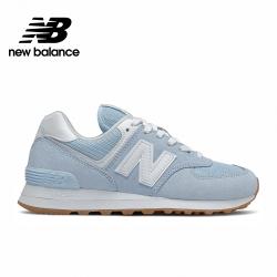 【New Balance】復古運動鞋_女性_粉藍_WL574PE2-B楦