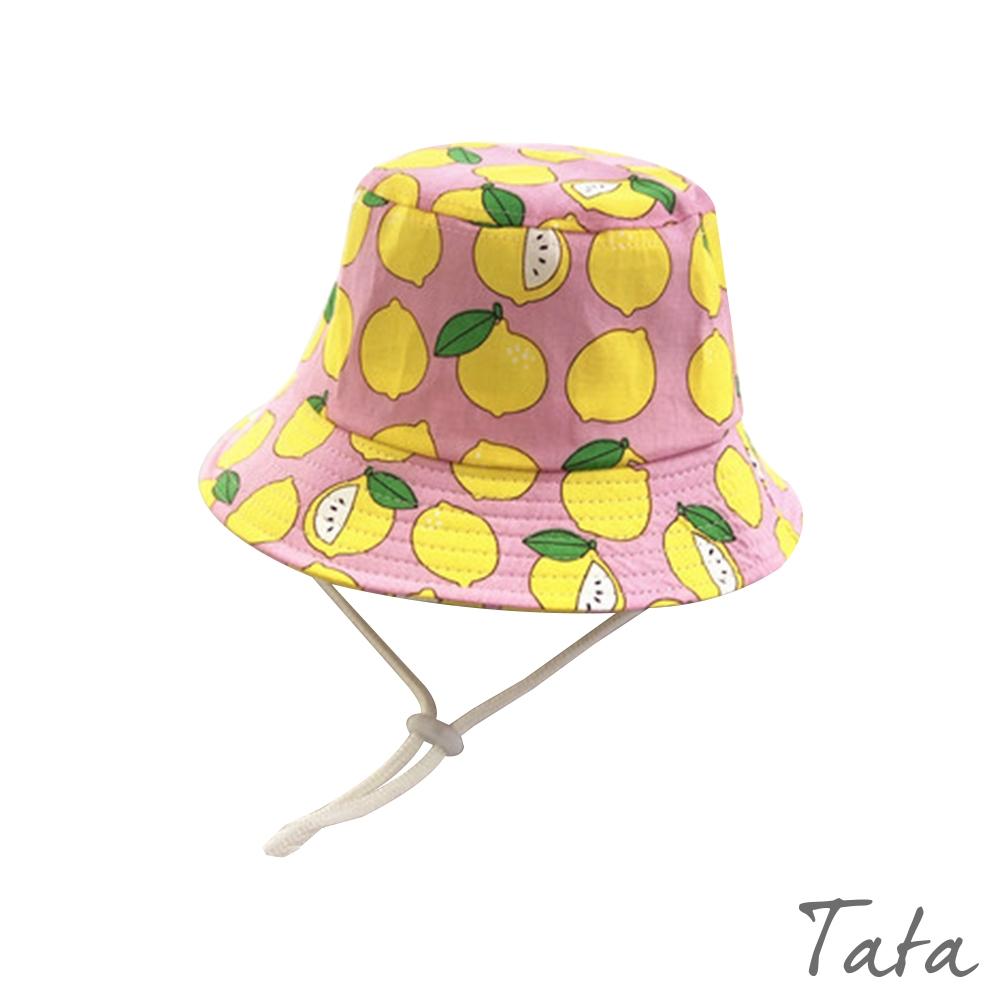 童裝 滿版檸檬漁夫帽 共二色 TATA KIDS