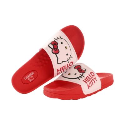 女鞋 台灣製Hello kitty正版大女孩及成人俏麗拖鞋sd7240 魔法Baby