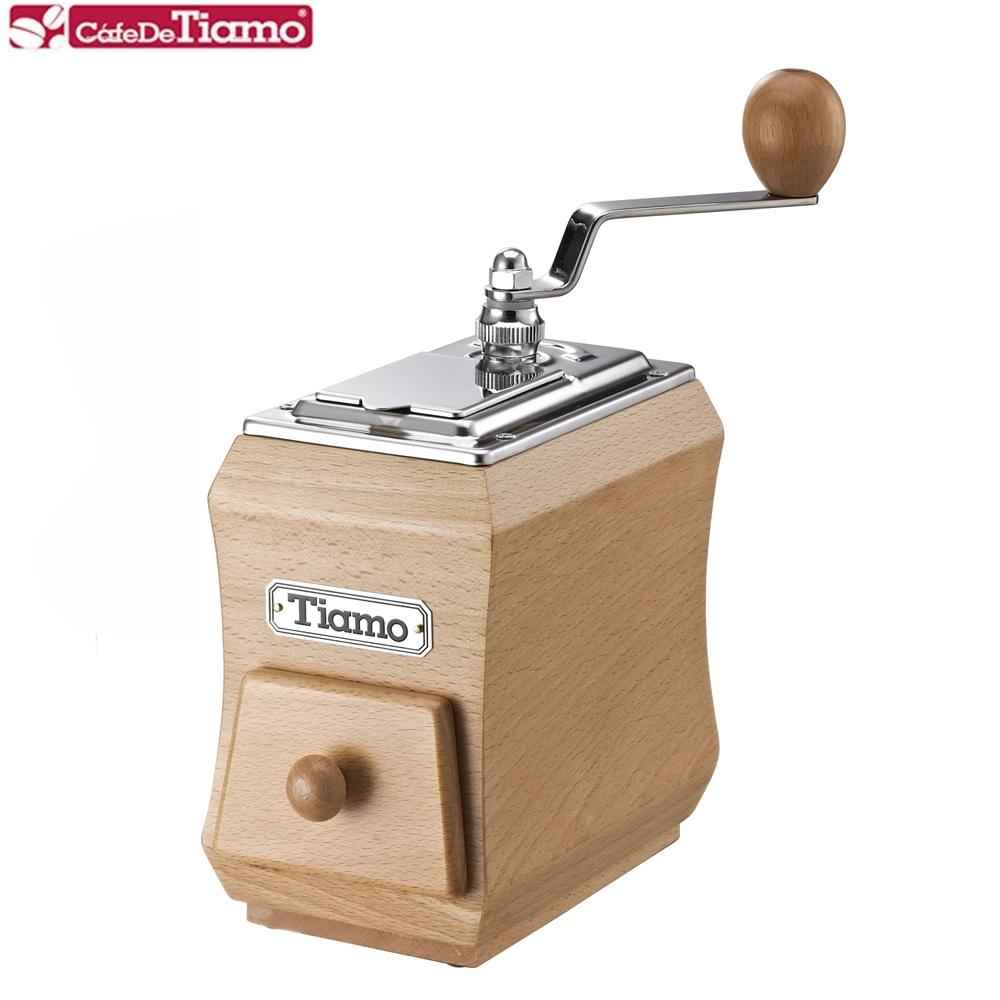 Tiamo 手搖磨豆機-山毛櫸(HG6079)