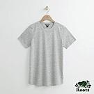 Roots -女裝- 珊蒂色紗短袖T恤- 灰