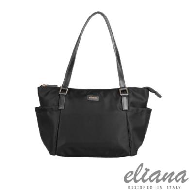 eliana - BREEZE系列輕量購物袋 - 摩登黑