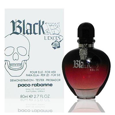 Paco Rabanne Black Xs 搖滾盛世女性淡香精 80ml Tester