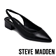 STEVE MADDEN-BLITZ 簡約素面V型鬆緊後拉帶尖頭低跟鞋-黑色 product thumbnail 1