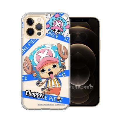 東映授權正版 航海王 iPhone 12 Pro Max 6.7吋 透明空壓手機殼(封鎖喬巴)