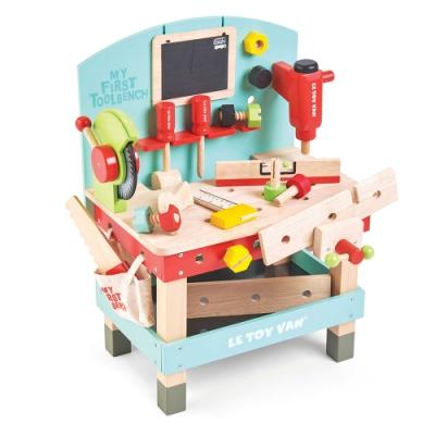英國 Le Toy Van 小小工程師系列-我的第一個工作站大型玩具組
