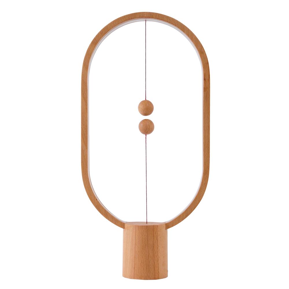 荷蘭allocacoc Heng衡 LED櫸木燈