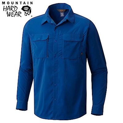 Mountain Hardwear 男款-防曬50快排長袖襯衫-深藍