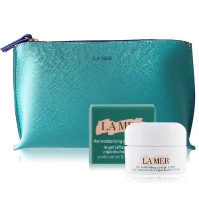 LA MER 海洋拉娜 水凝霜3.5ml加贈品牌化妝包
