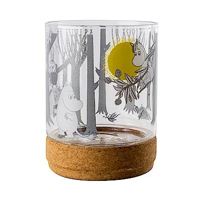 Muurla 嚕嚕米玻璃儲物罐1.2L 月亮