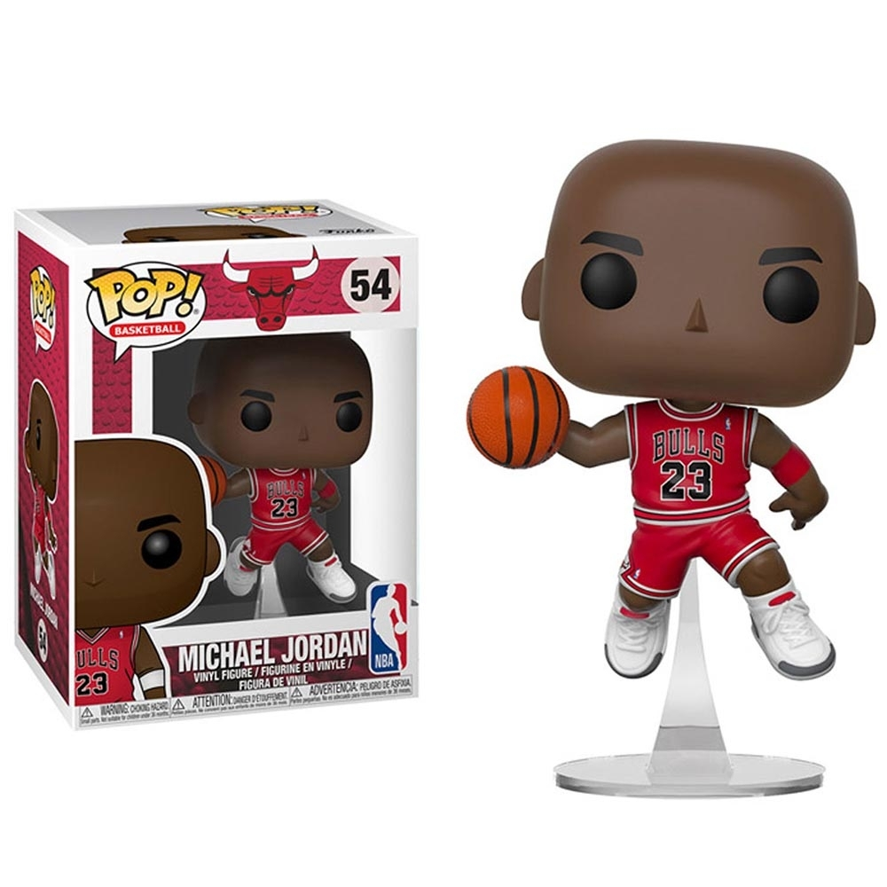 Funko POP NBA 大頭公仔 公牛隊 Michael Jordan