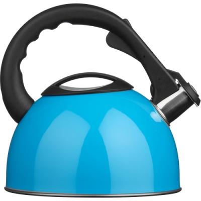 《Premier》不鏽鋼笛音壺(藍2.2L)