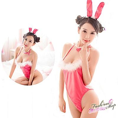兔女郎 透明薄紗兔女郎角色扮演制服cosplay表演服 流行E線