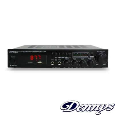 Dennys 藍牙/USB/SD/FM/MP3迷你擴大機(AV-273BT)