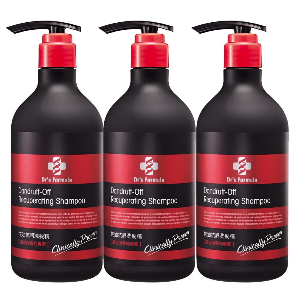台塑生醫Dr's Formula洗髮精580g/潤絲乳530g*3瓶