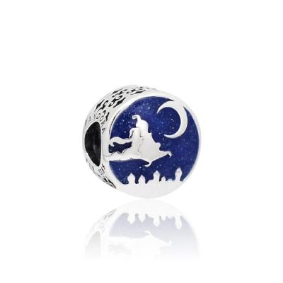 Pandora 潘朵拉 迪士尼系列 魔毯之夜 純銀墜飾 串珠