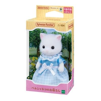 任選 日本 EPOCH森林家族 波斯貓媽媽 白 EP14052 原廠公司貨