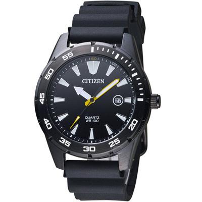 CITIZEN星辰 粗獷型男時尚腕錶(BI1045-13E)42mm