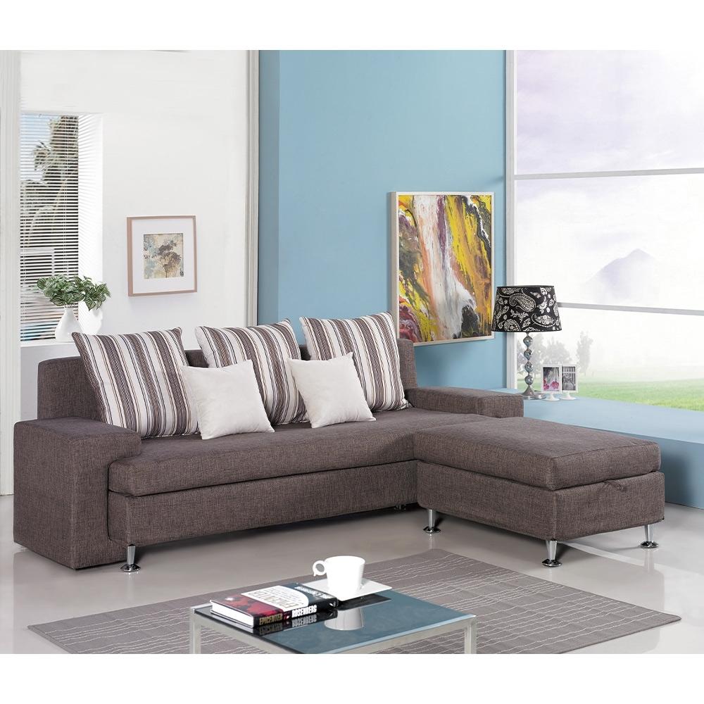 H&D 福斯L型布沙發