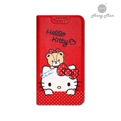 【Hong Man】三麗鷗系列 iPhone12 Pro Max 6.7吋手機皮套 Hello Kitty 經典款