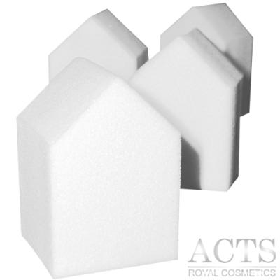 【滿千8折】ACTS 維詩彩妝 高密度Q海綿 五角房子形 4片/包