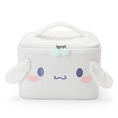 Sanrio 大耳狗喜拿雲朵軟綿綿系列大臉造型絨毛化妝提包