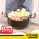 CookPower鍋寶 原礦大理石不沾雙耳湯鍋(含蓋)24CM 電磁爐適用 product thumbnail 2