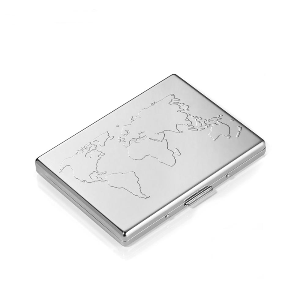 德國TROIKA防RFID防側錄BUSINESS WORLD信用卡/紙鈔夾CCC75/CH