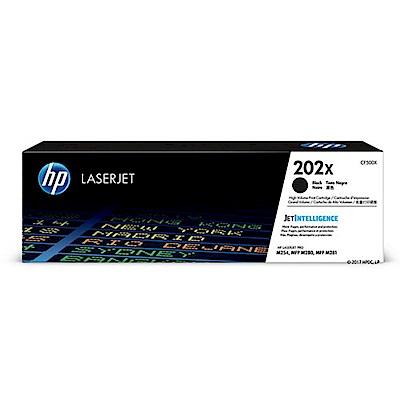 【HP 碳粉匣】HP CF500X   202X 黑色原廠碳粉匣