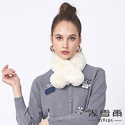 【麥雪爾】素色柔軟毛球磁扣脖圍-共6色