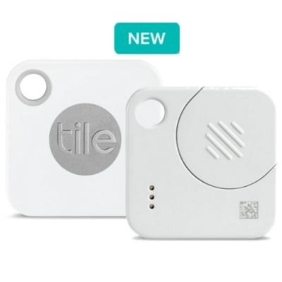 Tile 防丟小幫手-Mate-四入組(可換電池) / 白