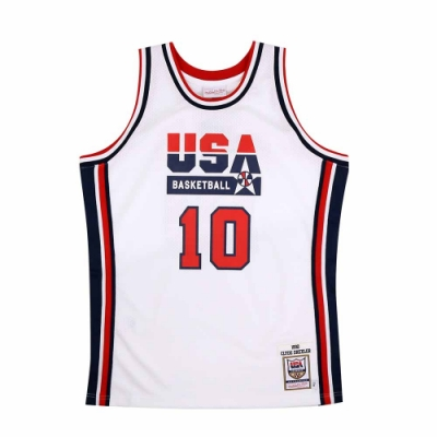 M&N Authentic球員版復古球衣 92 Dream Team #10 Clyde Drexler