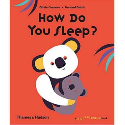 How Do You Sleep? 動物們怎麼睡覺呢?趣味操作書